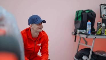 Kovács Zsombor – Két napos teszt a verseny előtt