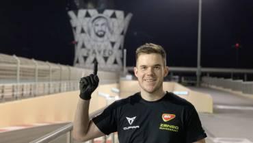 Kerekes Máté a Zengő Motorsport csapatában
