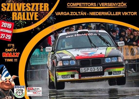 Újjáépítve irány a Szilveszter Rallye
