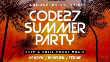 Code27 Summer Party
